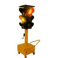 银川移动太阳能红绿灯 路口临时移动红绿灯 交通信号灯